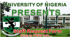 Staff Request Form…. Click for More Details