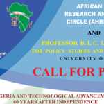 Call For Paper: Nigeria and Technological Advancement