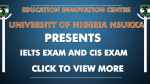 Adverts for Education Innovation Centre, UNN